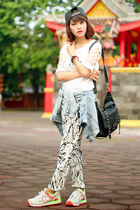 abaday pants - New Balance shoes - abaday top