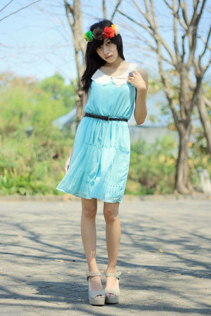 unbranded dress - unknown wedges