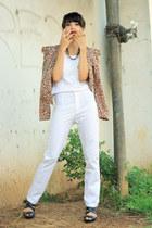 Ebay blazer - Zara pants