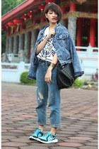 nike shoes - rosewholesalecom jeans - Sheinside jacket