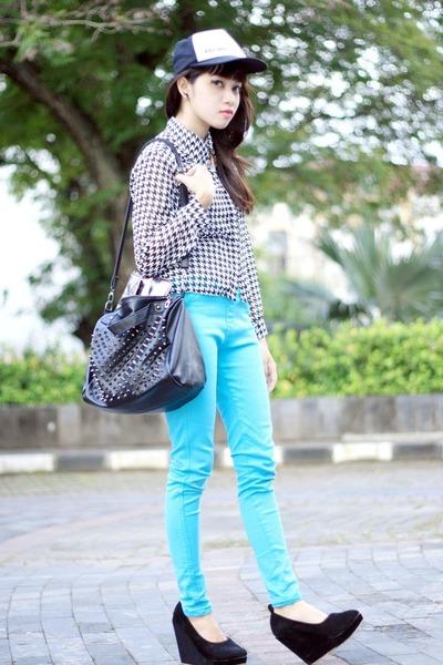 chiffon Zara t-shirt - Zara pants