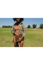 Nude-h-m-dress-army-i-heart-ronson-jacket-leopard-xhilaration-accessories
