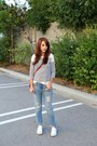 Gap-jeans-forever-21-bag-jcrew-top-jack-purcell-sneakers