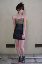 black chia skirt