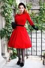 Vintage-dress-chanel-heels