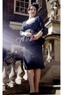 Navy-dress-designed-by-me-dress-navy-vintage-bag-black-christian-dior-heels