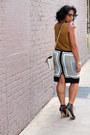 Jcrew-shirt-vintage-purse-dolce-vita-sandals-asos-skirt