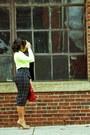 Aldo-shoes-neon-sweater-forever-21-sweater-asos-skirt-madewell-blouse