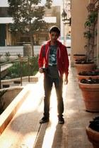 Vans shoes - Cheap Monday jeans - American Apparel hoodie