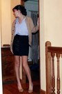Thrifted-vintage-shirt-thrifted-vintage-skirt-thrifted-vintage-celine-shoes-