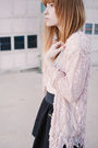 Pink-rock-paper-vintage-jacket-black-unknown-skirt-white-unknown-top-black