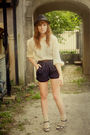Beige-urban-outfitters-socks-blue-vintage-shorts-blue-vintage-shoes-beige-