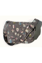 heather gray messenger bag Hemet bag