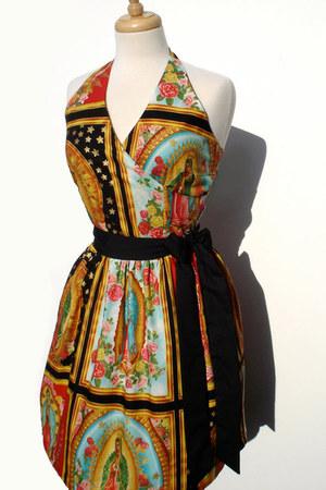halter cotton Hemet dress