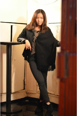 black chealsea boots Zara boots - black black jeans Zara jeans