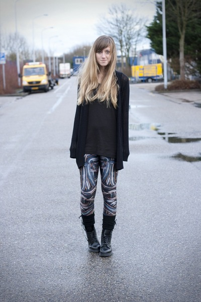 snake pit Black Milk leggings