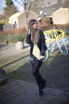 boomer shirt macbeth tie - creeper wedges Underground heels