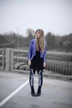bone legs Black Milk leggings