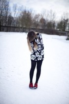 skull alien adidas sweater - red creepers Underground flats