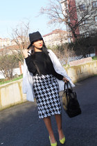 Mango skirt - Zara shoes - Zara hat - Stradivarius top