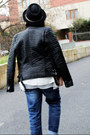 Christian-louboutin-shoes-zara-jeans-yargıcı-hat-mango-jacket-zara-bag