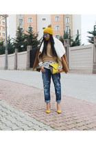 Zara hat - Gap jeans - Zara shirt - Zara accessories