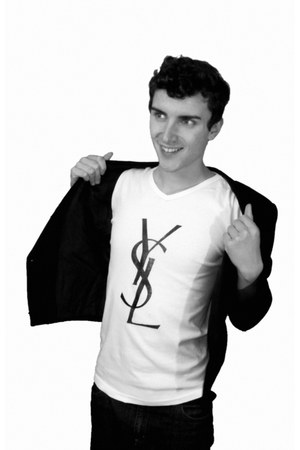 DAVID MONTICELLI blazer - Yves Saint Laurent t-shirt