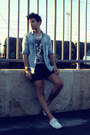 Sky-blue-denim-h-m-shirt-black-denim-zara-shorts
