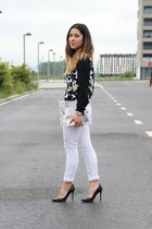 Lefties jacket - Zara heels