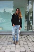 Zara sweater - Zara jeans