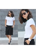 Zara shorts - & other stories t-shirt - Zara loafers