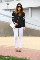 Zara sweatshirt - Zara heels