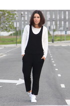 Zara bodysuit - Adidas sneakers - Mango top