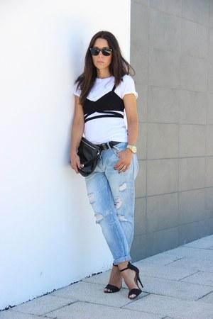 Zara bra - Zara jeans - Zara heels