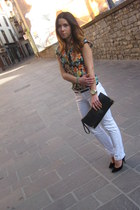 BLANCO shirt - asos shoes - Zara pants