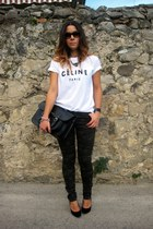 Etsy t-shirt - Stella Rittwagen bag - Lefties pants