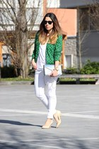Primark blazer - new look bag - Zara heels