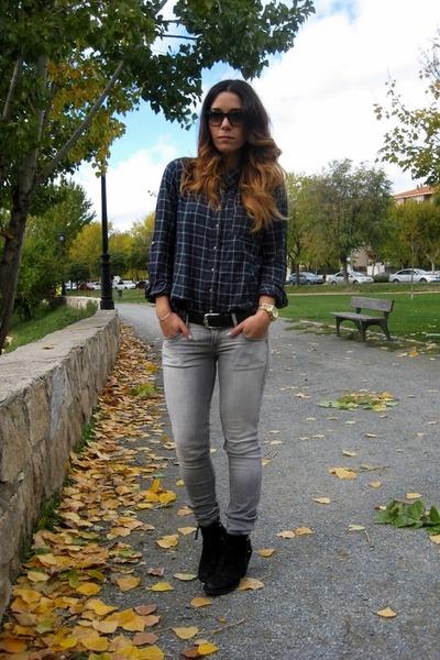 Primark shirt - Topshop boots