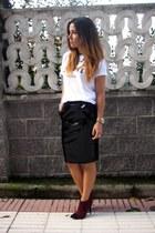 H&M Trend skirt - Etsy t-shirt - Primark heels