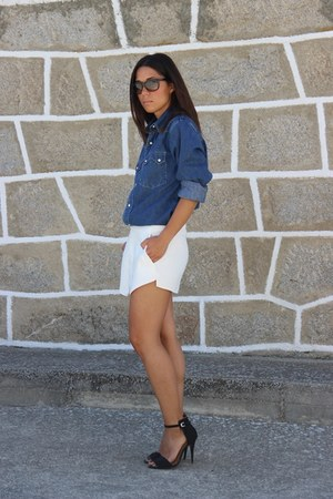 Levis shirt - Zara skirt