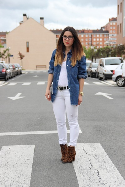 Levis shirt - Zara boots