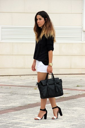 Zara bag - Lefties heels