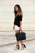 Zara bag - Lefties heels