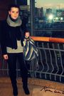 Blazer-bata-boots-new-yorker-scarf