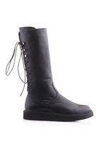 Black-boots-romwe-boots