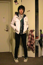 American Apparel jacket - American Apparel sweater - H&M jeans - Vans shoes - Am