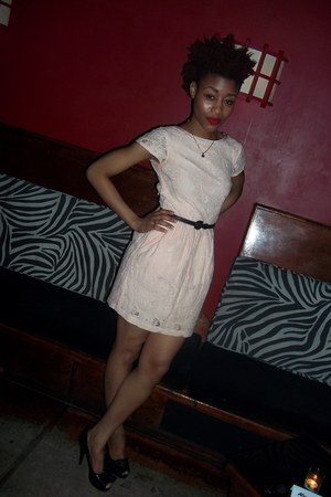 H&M dress - Forever 21 belt