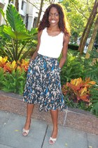 H&M skirt - Nine West heels