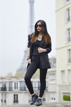 black Mango blazer - black Yesstyle pants
