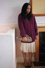 Crochet-clutch-handmade-bag-chunky-knit-new-look-jumper